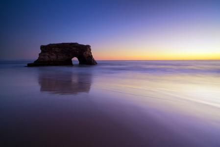 Обои море, океан, пляж, скала