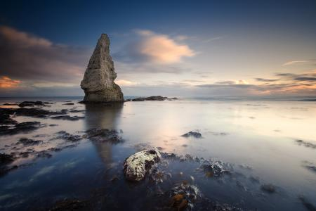 Картинки море, океан, небо, скала