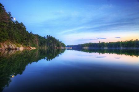Картинки пейзаж, природа, озеро