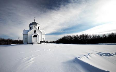 Картинки храм, зима, пейзаж