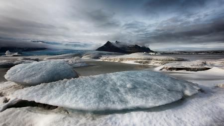 Картинки iceland, Fjallsárlón, Ice, Lagoon