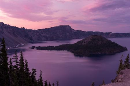 Обои Crater Lake National Park, Oregon, U.S.A., озеро