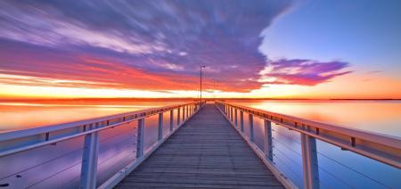 Картинки утро, небо, море