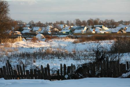 Обои пейзаж, зима, природа, деревья