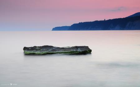 Обои море, камень, скалы