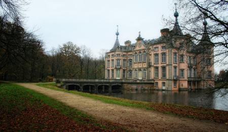 Картинки Замок, belgium castle, бельгия, природа