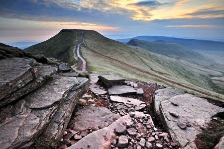 Фото горы, холмы, скалы, камни