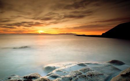 Картинки море, скалы, небо, пейзаж