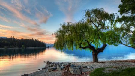 Заставки природа, пейзаж, закат