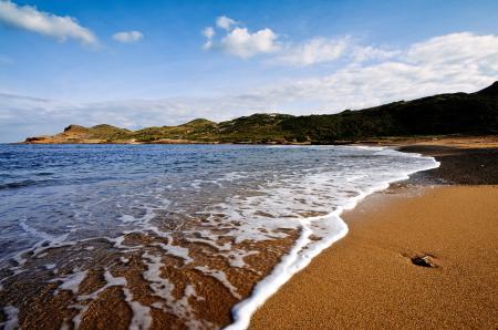 Картинки море, небо, пляж, волны