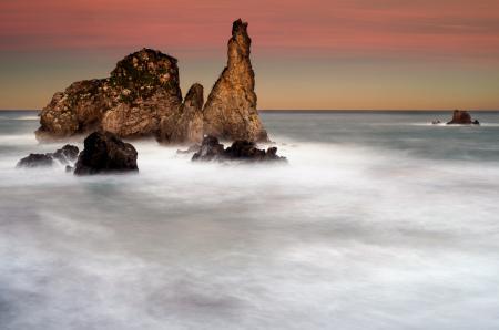 Фото море, скалы, вода, шум моря