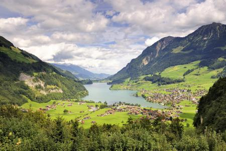 Заставки швейцария, кантон, обвальден, озеро