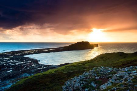 Фотографии море, закат, пейзаж