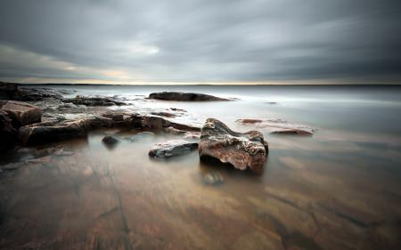 Фото море, камни, природа, пейзаж
