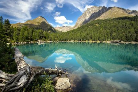 Фото озеро, горы, пейзаж