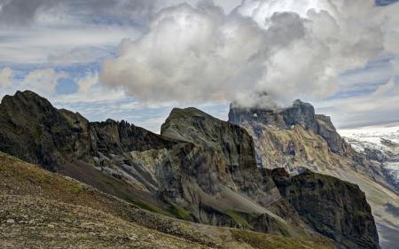 Фото горы, природа, пейзаж