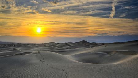Заставки закат, солнце, небо, пустыня