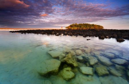Фотографии море, камни, берег, небо