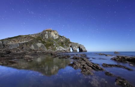 Картинки вечер, небо, звезды, море