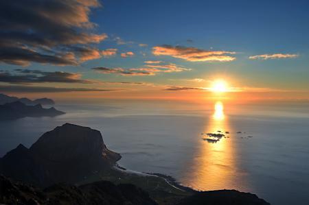 Картинки море, солнце, дорожка, свет