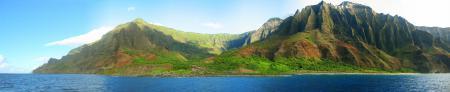 Обои Остров, Берег, Горы, Архипелаг