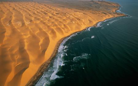 Картинки Африка, Намибия, пустыня, песок