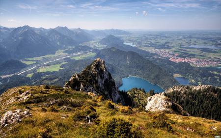 Обои пейзаж, горы, красота, высота