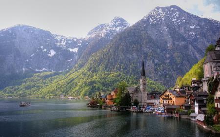 Обои Austria, Австрия, горы, церковь