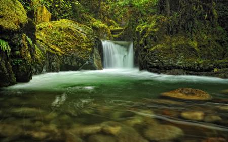 Картинки водопад, камни, вода, река