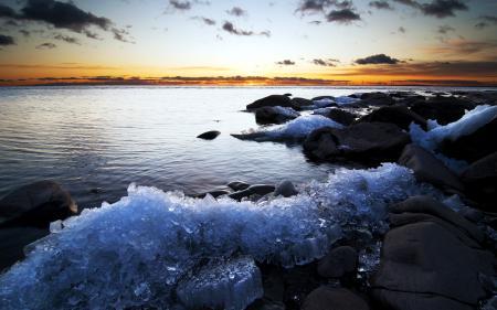 Фотографии закат, море, небо, пейзаж