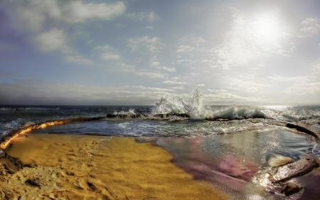 Обои море, волны, пейзаж