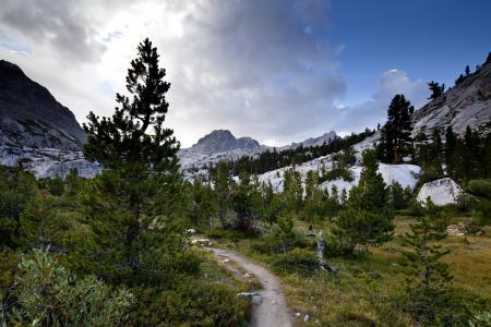 Обои дорога, горы, пейзаж