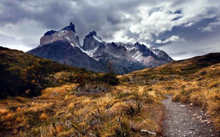 Картинки горы, небо, природа, пейзаж