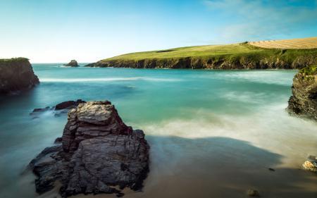 Заставки море, берег, лето, пейзаж