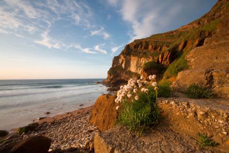 Картинки Морской пейзаж, море, берег, скалы