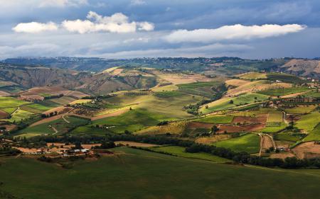 Фотографии пейзаж, природа, поля, зелень