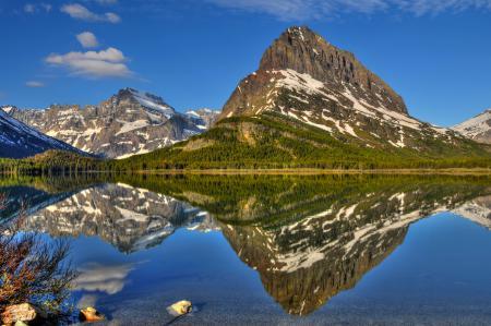 Обои пейзаж, природа, горы, лес