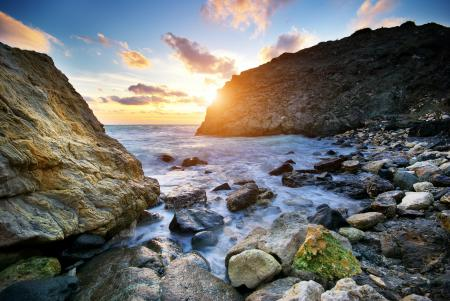 Фото скалы, камни, море, океан