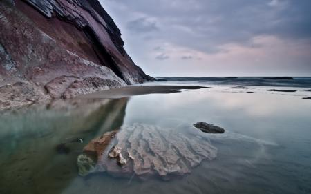 Обои море, скалы, природа, пейзаж
