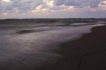 Заставки море, волны, ветер, берег