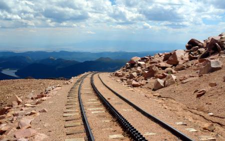 Фото дорога, горы, пейзаж