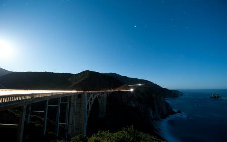 Фотографии Монтерей, Калифорния, океан, скалы