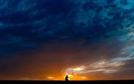 Фотографии ночь, небо, силуэт, пейзаж