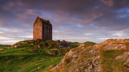 Фото Smailholm Tower, Scottish Borders, руины, башня