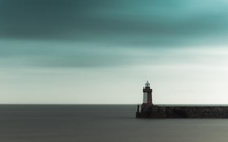 Картинки небо, тучи, море, гладь