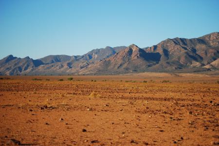 Фотографии Пустыня, песок, небо