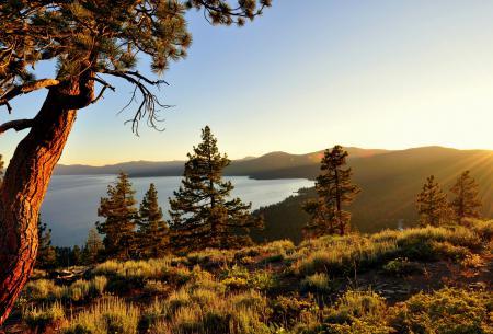 Заставки озеро Тахо, природа, калифорния, high sierra