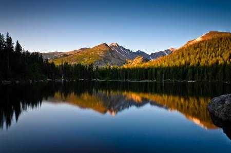 Картинки природа, горы, лес, озеро