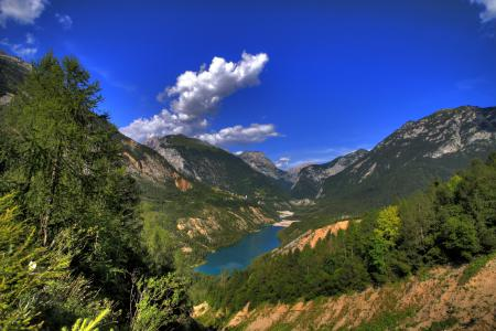 Фотографии природа, горы, лес, озеро