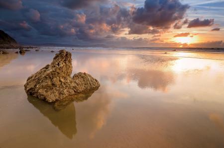 Обои природа, пейзаж, берег, песок